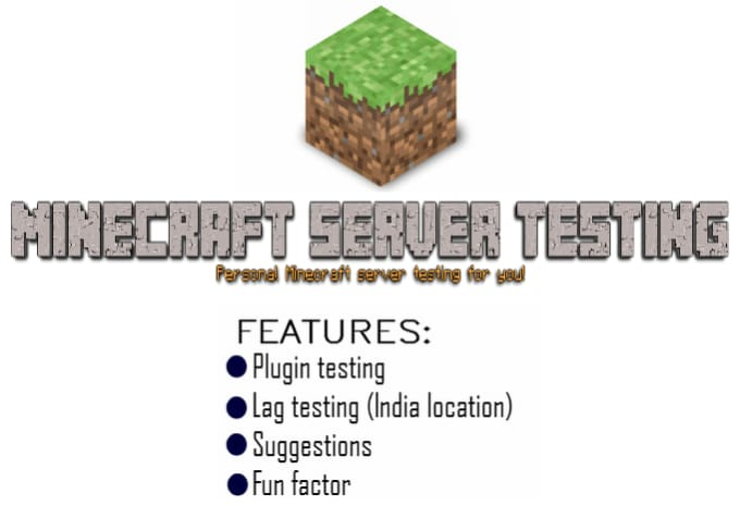 test your minecraft server
