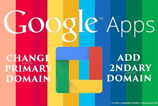 add multiple secondary domain in google apps g suite