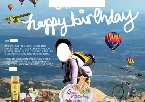 I Will Make A Fun Ott Custom Photoshopped Birthday Card That You Can Print Or Email