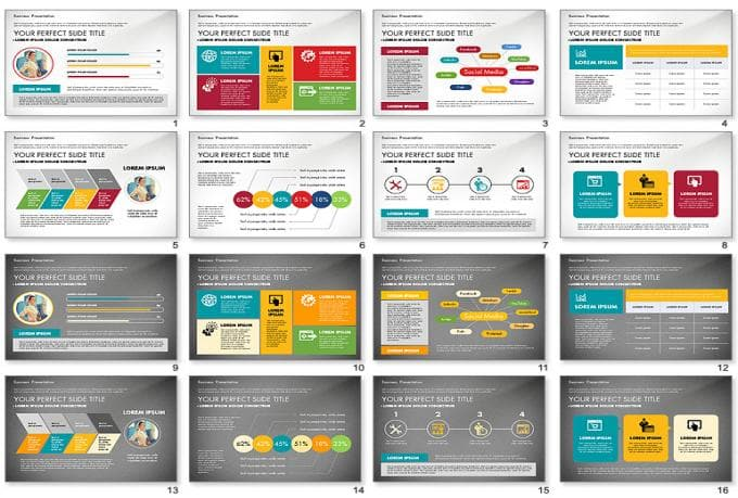 design an awesome powerpoint design of your company by wahpresentation