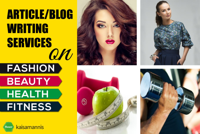 Be Article Or Blog Content Writer For Fashion, Beauty