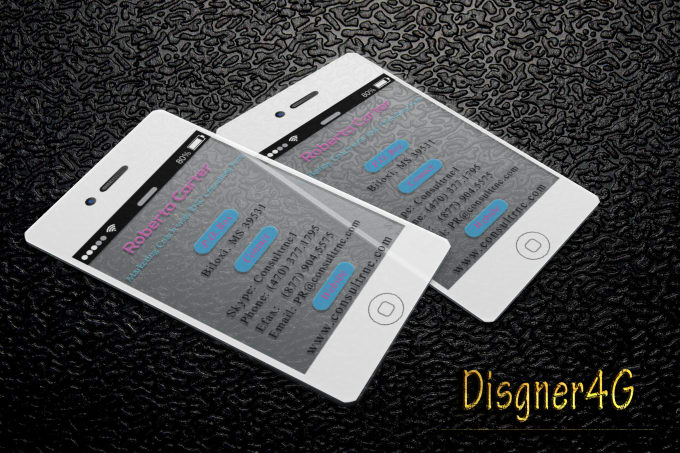 Iphone transparent business cards by disgner4g iphone transparent business cards colourmoves