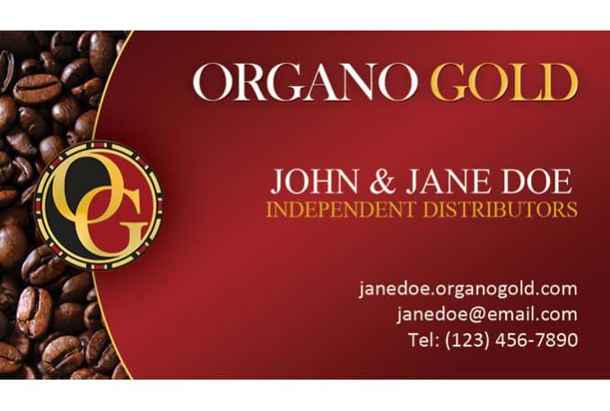 Design your organo gold business card by banks305 design your organo gold business card colourmoves