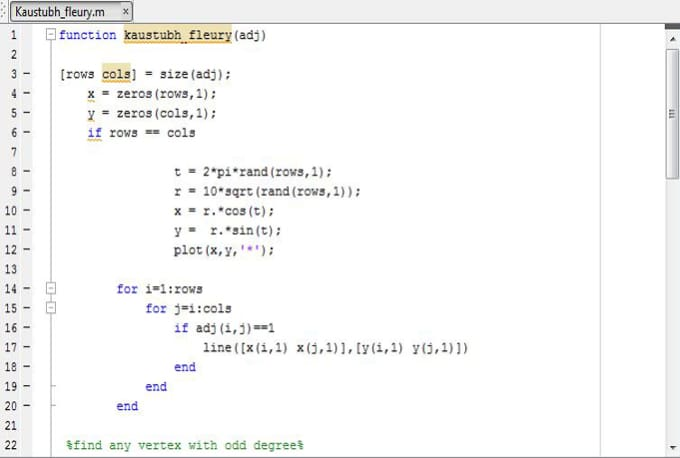 do any matlab project or programming assignment