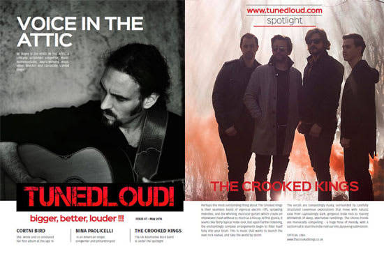 review, publish and promote your music online, in print and on radio