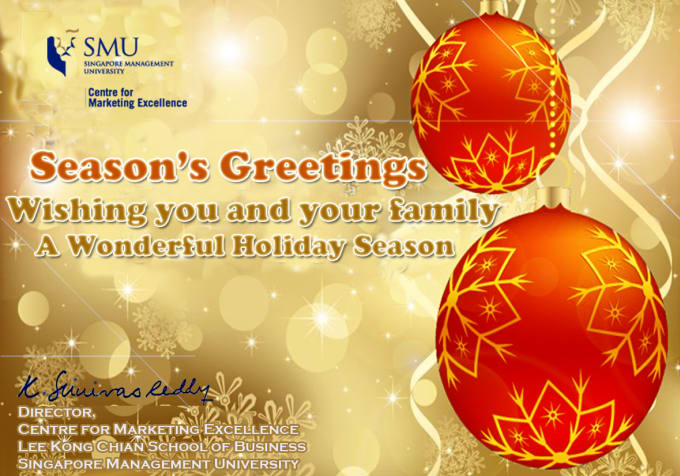 design any christmas and new year greetings