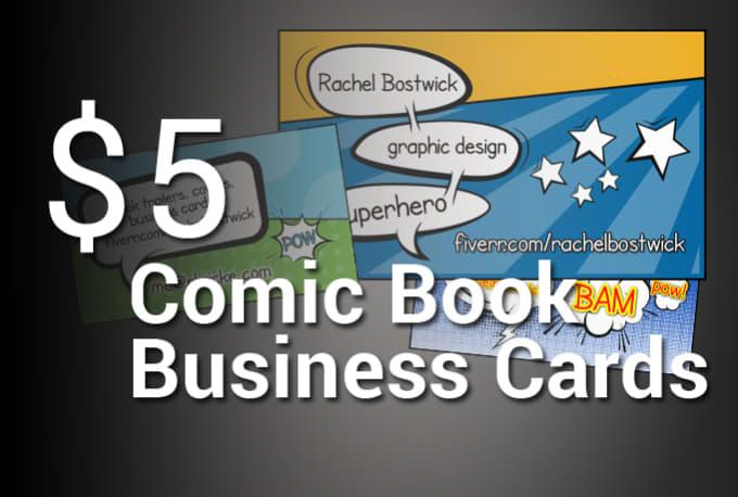 Create your super hero comic book business card by rachelbostwick create your super hero comic book business card colourmoves