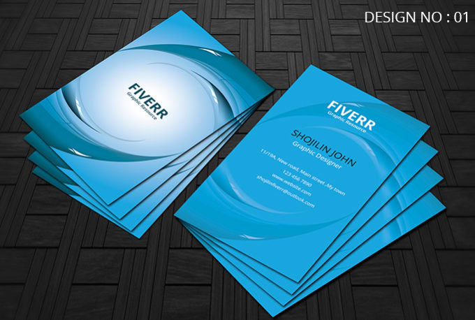 Make Simplestylish And Professional Vertical Business Card