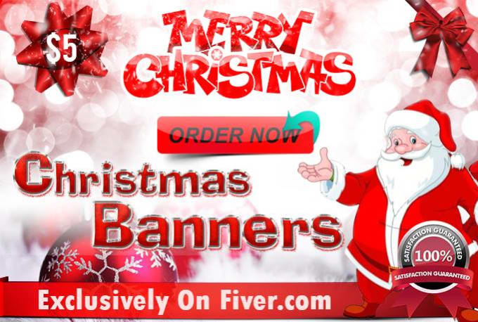 Christmas Banners.Mchathuranga I Will Design A Christmas Banner Header Leaflet For 5 On Www Fiverr Com