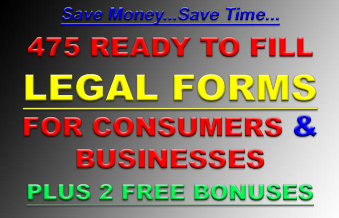 Send You Best Legal Forms By Creativeslogans - Best legal forms