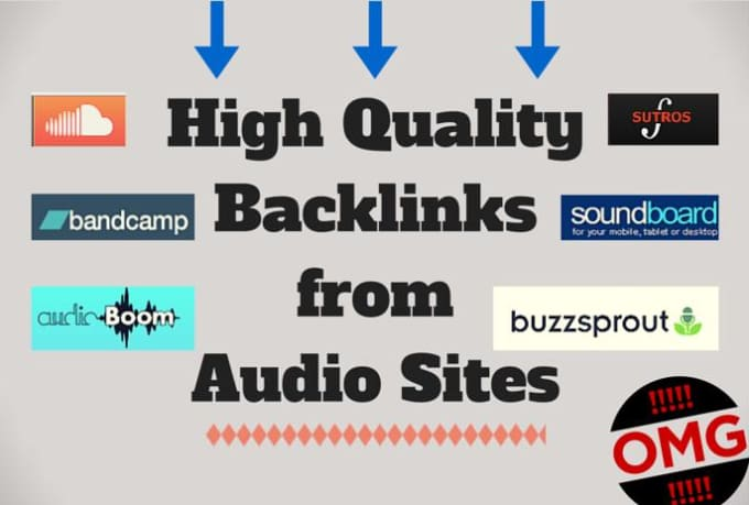 do audio submission to top 15 great sites for links