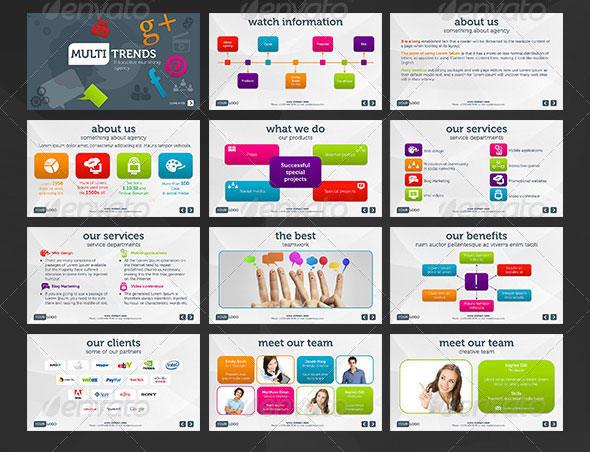 owsome professional presentation slides by daudch