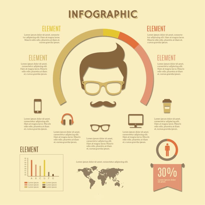 make an infographic poster by pandawolf