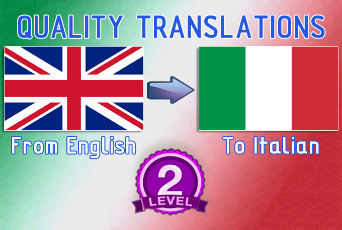 English To Italian Translation: Greatly Translate English To Italian By Itjpen