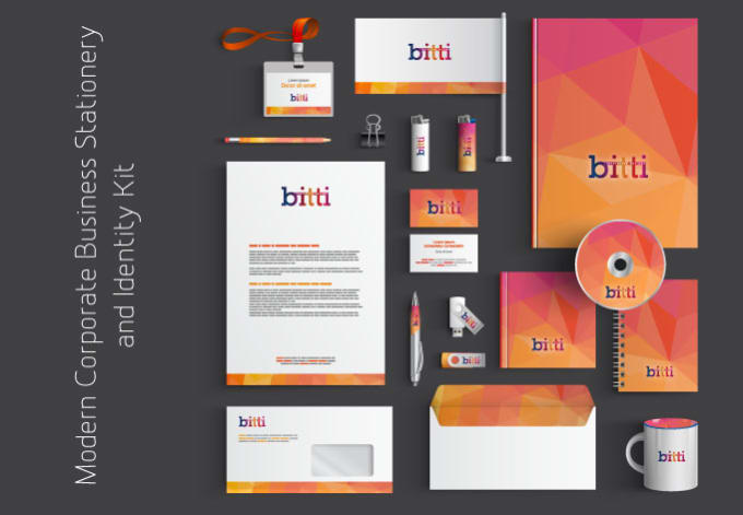 stationery kit identity kit branding business card