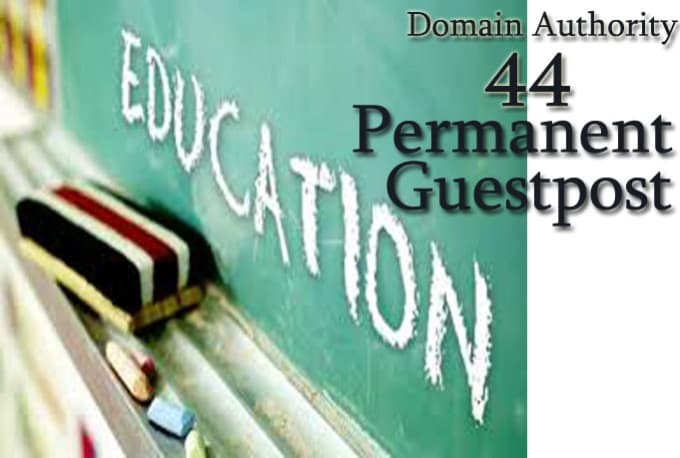 write guest post on education site dofollow
