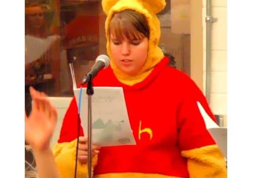 fd89f733cfec Dance in a full body winnie the pooh costume by Rgundy13