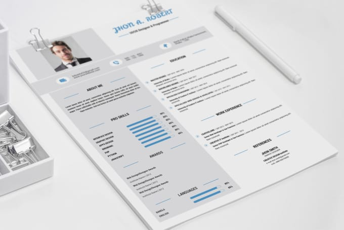 Design cover letter,cv,curriculum vitae or resume for you by Bdsaidul24