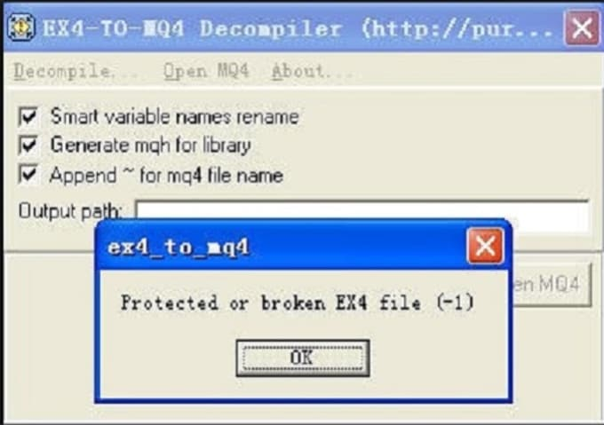 encrypt your mt4 indicator
