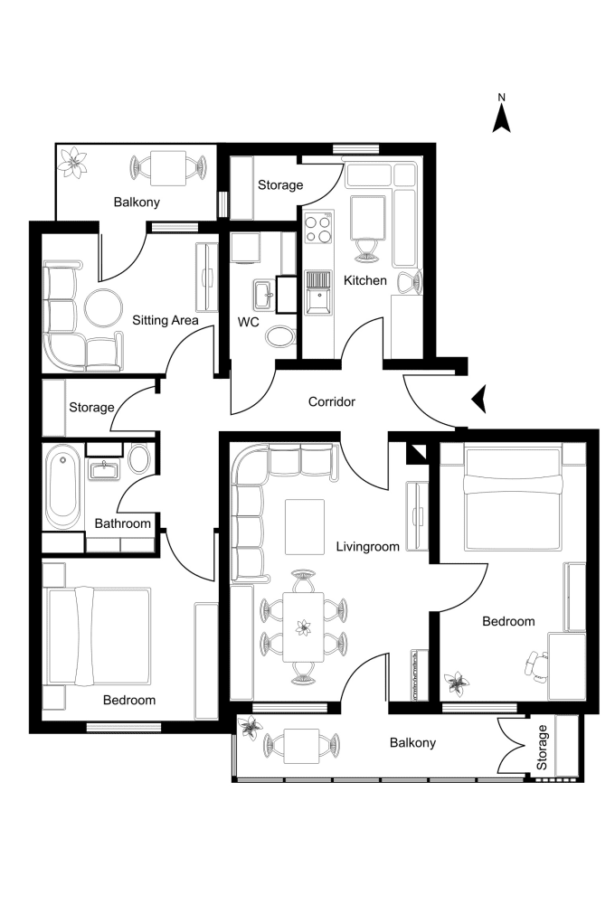 Exceptional Draw A Floor Plan In Coreldraw Amazing Pictures