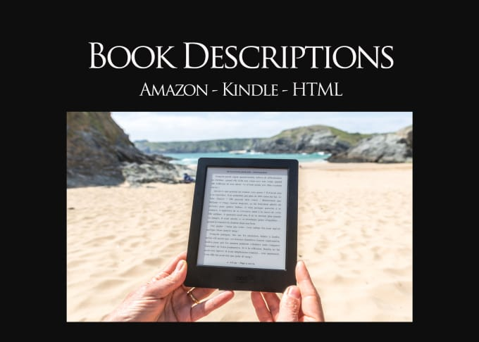 Write Your Ebook Book Or Back Cover Blurb Or Description