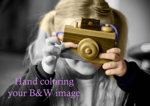 Hand Color Your Black And White Photo With Photoshop