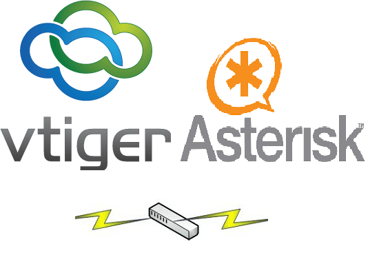 do vtiger integration with elastix, freepbx to make calls through vtiger CRM