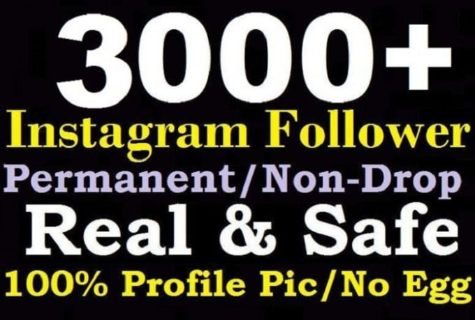 Add 3000 Instagram Followers By Manilaboss11
