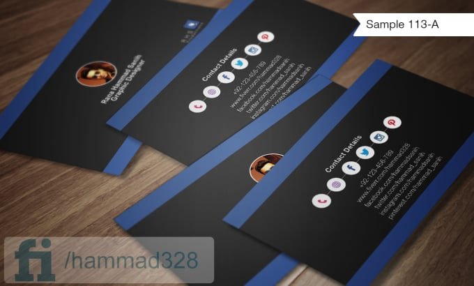 Make social media business cards by hammad328 make social media business cards flashek Gallery