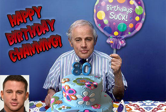 I Will Make A Hilarious Custom Old Age Birthday Card