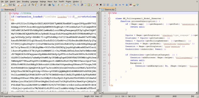 php decode