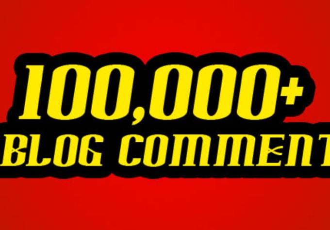 faithislove : I will give Scrapebox 100,000+ Blog Comment List for $5 on  www fiverr com