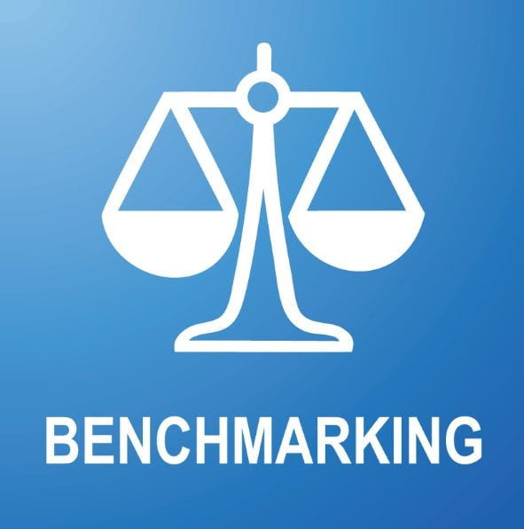 Provide template for competitive benchmarking by Bizvantage