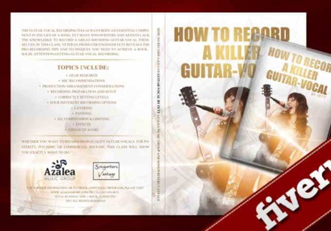 Design An Amazing Printable Dvd Cover By Leon86