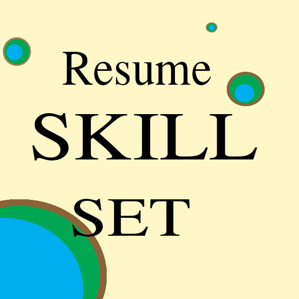 develop a professional skill set for your resume by spinning clover