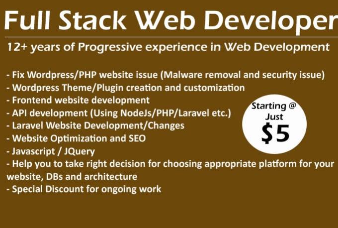 do wordpress website from scratch