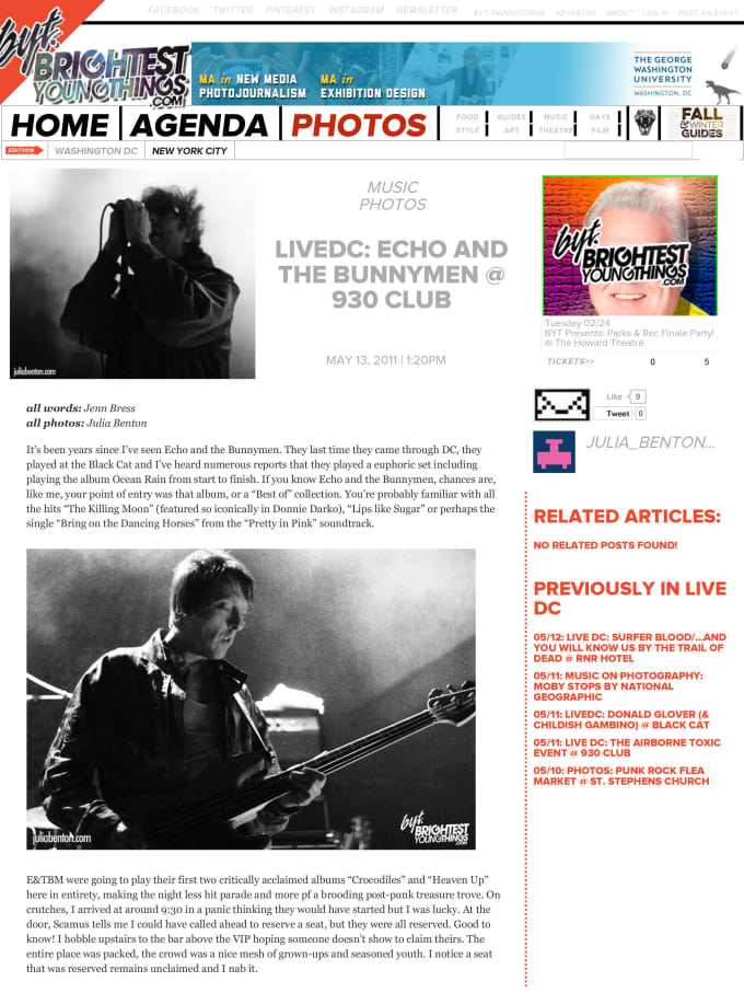 write an album review and it promote on my blog