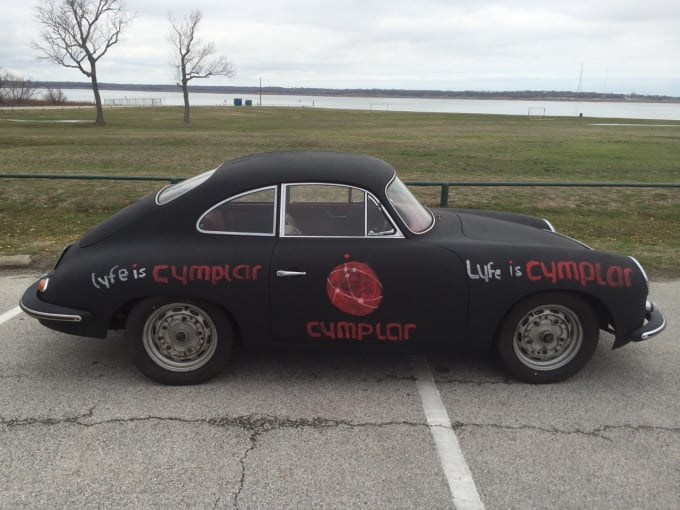 Draw your message on my porsche car door in chalk by Tonycoke
