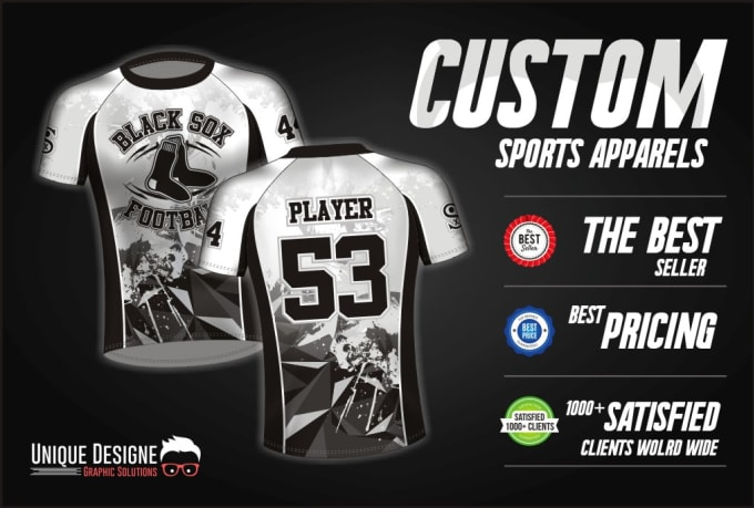 do custom jersey design or sublimation jersey
