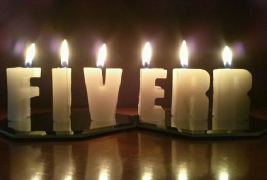 Make Beautiful Personalized Name Candles