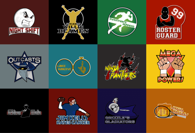 Create a custom logo for your sport or gaming team