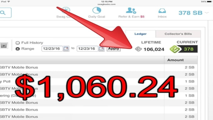 100 Dollars A Month >> Send You A How To Earn 100 Dollars A Month On Swagbucks Ebook