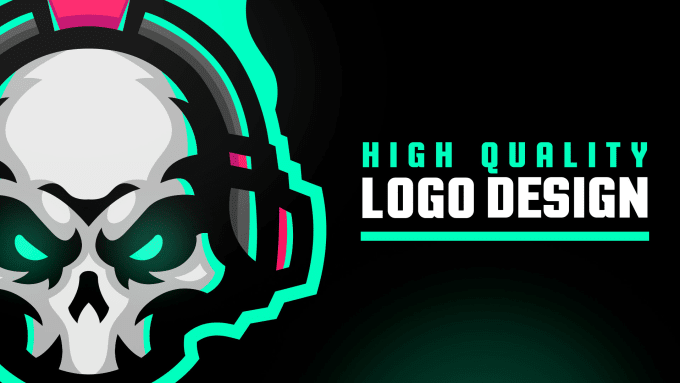 design a custom original sport, gaming, twitch, mascot logo