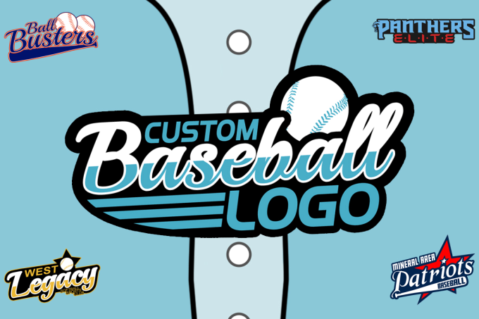 f7344bff346 Create a custom baseball team logo for you by Outragegraphics