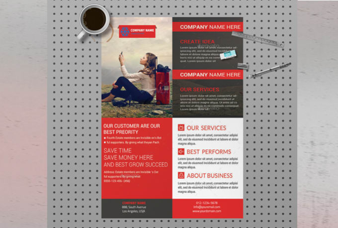 Design Professional Corporate Flyer Poster Brochure By Lisa