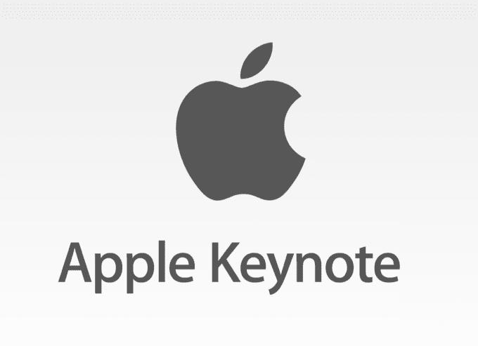 design your presentation in apple keynote, mac iwork