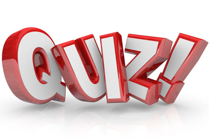 andreper : I will write and answer a 25 question quiz for $5 on  www fiverr com