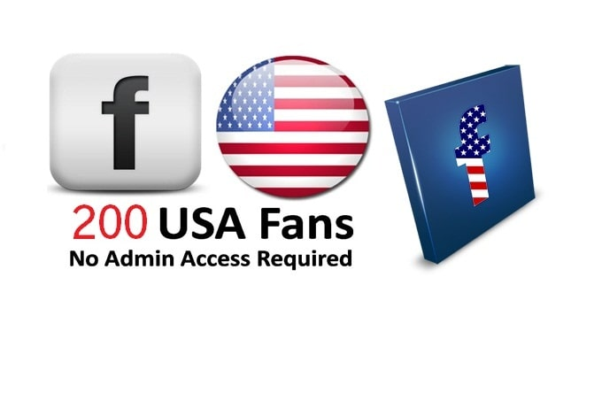 get you 200 Real USA and Canada Facebook Likes to your fanpage