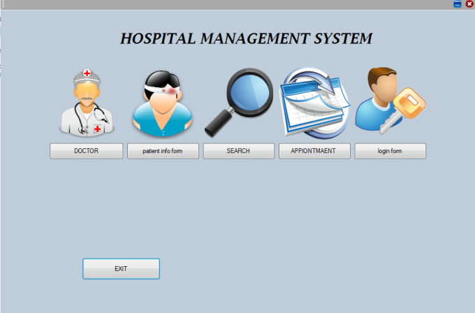 windows base application on hospital management Tutorial to create a database driven windows application where data can be inserted,edited,deleted and traversed, with c# code examples.