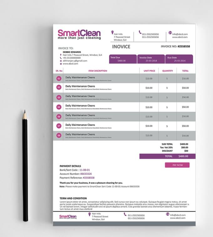 Design your creative invoice by abhiranjan design your creative invoice thecheapjerseys Image collections